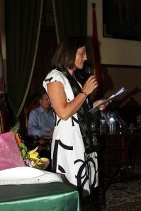Presentadora