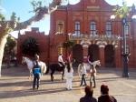 Caballos en plaza 3